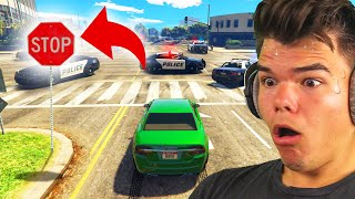 Playing GTA 5 Without BREAKING LAWS! - YouTube