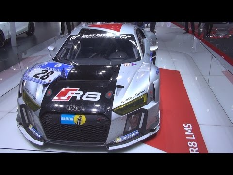 Audi R8 LMS (2016) Exterior and Interior in 3D