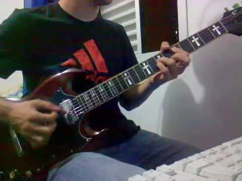 Guitar cover - Wheels of Confusion - by Black Sabbath