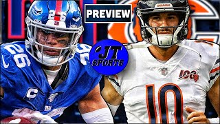 New York Giants vs Chicago Bears Preview & Prediction | NFL Week 2 Predictions
