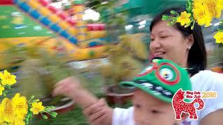 Nhạc Xuân Cho Bé 2018 ♫ Ca Nhạc Thiếu Nhi Múa Lân Vui Nhộn Nhất ► Tết Là Tết,Mùa Xuân Ơi