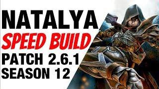Patch 2.6.1 Demon Hunter Natalya Speed Build Diablo 3 Season 12