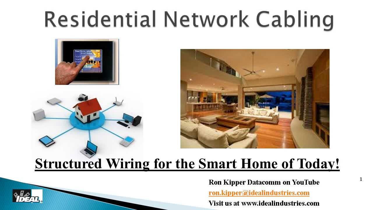 residential structured wiring diagram residential structured wiring systems part 1 why and how ... #10