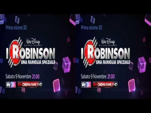 Sky 3D Italia: I ROBINSON - UNA FAMIGLIA SPAZIALE