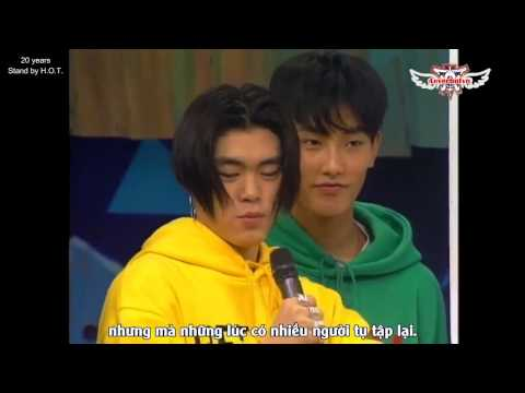 [Vietsub by 4everhotvn] H.O.T  5 questions by Lee Soo Man (1996)