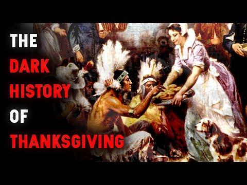 The TRUE And Dark History Of Thanksgiving   Dark History