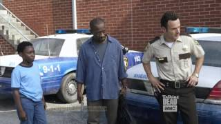 Talking Dead Andrew Lincoln on Lennie James (Morgan)