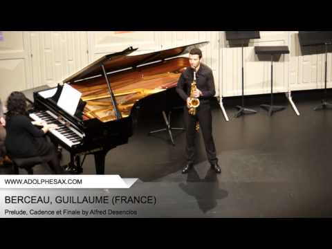 Dinant 2014 - BERCEAU Guillaume (Prelude, Cadence et Finale by Alfred Desenclos)