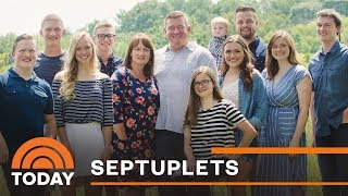 First Set Of Septuplets Turn 18: Catching Up With The McCaughey Family | TODAY