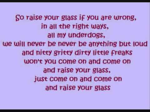 Raise Your Glass