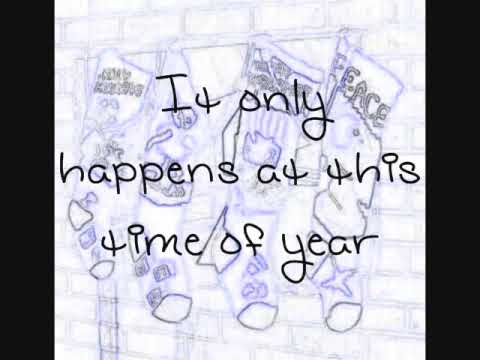 Greatest Time of Year - 78violet (Aly & AJ) - Lyrics on screen