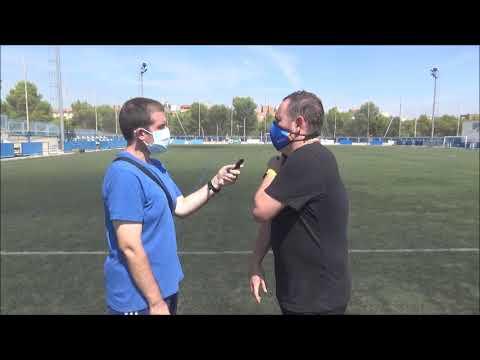 JUAN GONZÁLEZ (Entrenador Epila) CD Giner 1-2 CF Épila / J 1 / 3ª División