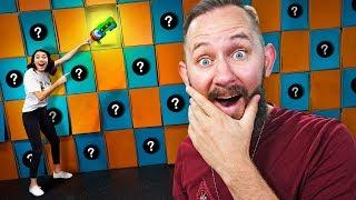 NERF *GIANT* Memory Match Challenge!