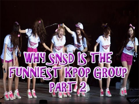 Why SNSD is the FUNNIEST KPOP GROUP PART 2