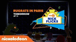NickSplat Nick Flicks - Rugrats in Paris: The Movie (2000) promo (September 2, 2018)