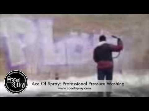 Graffiti Removal in Chicago, Milwaukee & St. Louis - Ace of Spray