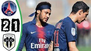 شاهد ملخص اهداف مباراة باريس سان جيرمان وأنجيه تألق نيم ...
