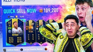 TOTY DISCARD CHALLENGES VS W2S!! (FIFA 19)