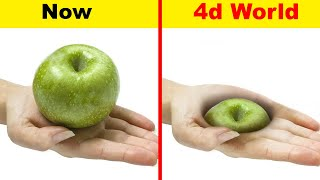 How Will You Look Like in the 4th Dimension (4d World)?