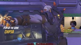 Overwatch Toxic Doomfist God Chipsa Destroying Enemy Team So Hard -POTG-