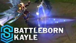 Battleborn Kayle (2019) Skin Spotlight - League of Legends