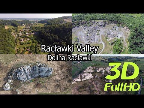 [3D] Valley of Racławka and around / Dolina Racławki i okolice, Dubie, Racławice, Poland / Polska