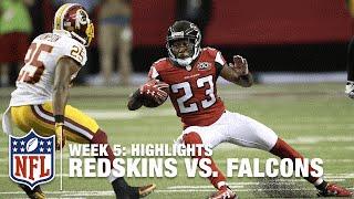 Redskins vs. Falcons | Week 5 Highlights | NFL