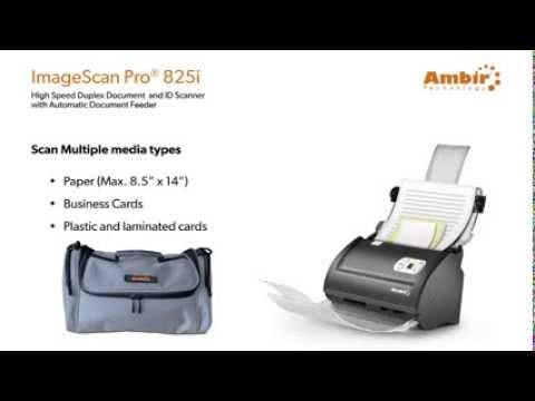 Ambir ImageScan Pro 825i ADF Scanner