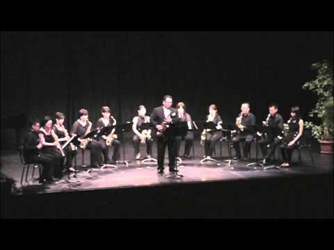 D-SAXフランス公演 Jacques Ibert Concertino da Camea 2nd Mov