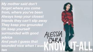 Seventeen - Alessia Cara [LYRICS]