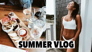 VLOG: catch up on my life, summer beach day on cape cod!