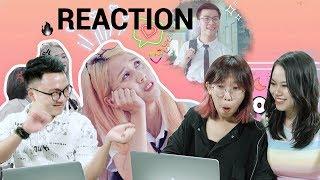 REACTION: KẾ HOẠCH TÁN TRAI - Những chị đại học đường 2 | Hậu Hoàng ft Nhung Phương