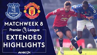 Everton v. Manchester United   PREMIER LEAGUE HIGHLIGHTS   11/7/2020   NBC Sports