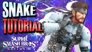 Smash Ultimate: Snake Competitive Tutorial