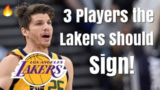 3 Players the Los Angeles Lakers Should SIGN After the Anthony Davis Trade! | Lonzo Ball Gone!
