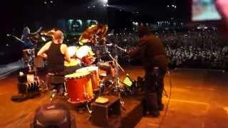 Metallica - Milan 02.06.2015 - Intro/Fuel/Bellz/Militia - on stage view