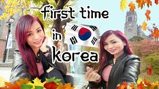 WHAT TO EXPECT ON FIRST TIME IN SOUTH KOREA | Trip to Korea Vlog