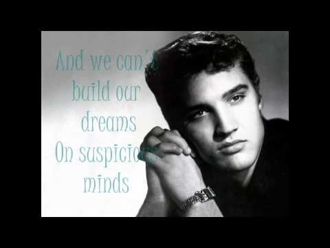 Baixar Suspicious Minds by Elvis Presley [Lyrics]