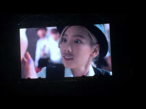 160806 VCR2 : Uptown Funk - Taeyeon Butterfly Kiss in Busan