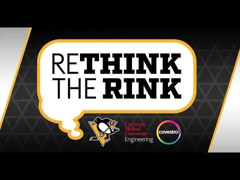 """The Pittsburgh Penguins are teaming up with two international giants of science and technology-Carnegie Mellon University's College of Engineering and Covestro-on a bold initiative to make hockey safer at all levels. """"Rethink The Rink,"""" a first-of-its kind project, will challenge students to develop material solutions that enhance the safety of the sport without compromising game performance."""