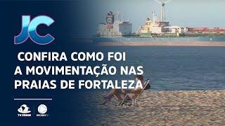 Quinta do Caranguejo:  Confira como foi a movimentação nas praias de Fortaleza