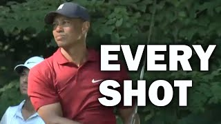 Tiger Woods Final Round at the 2020 Northern Trust | Every Shot
