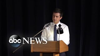 Pete Buttigieg holds town hall on police shooting in South Bend, Indiana