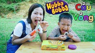 Làm Kẹo Hubba Bubba Cầu Vồng Bằng Kẹo Chupa Chups ❤ BonBon TV ❤