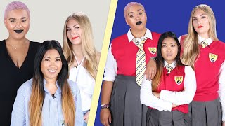 We Wore School Uniforms For A Week