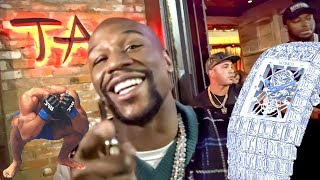 Floyd Mayweather Sends A Message To Tyron Woodley and Flexes $18 Million Dollar Watch! **TOO FUNNY**