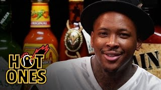 YG Keeps His Bool Eating Spicy Nuggets | Hot Ones
