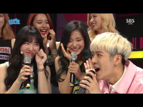 160501 Inkigayo TWICE Interview 1080p 60fps