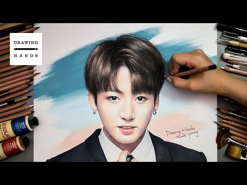 Speed Drawing BTS - Jungkook [Drawing Hands]