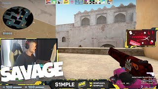 /when s1mple streams 10 stream highlights funny moments insane plays csgo